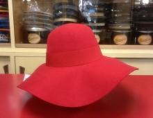 Cappello morbido donna in feltro merinos con guarnizione in canetè