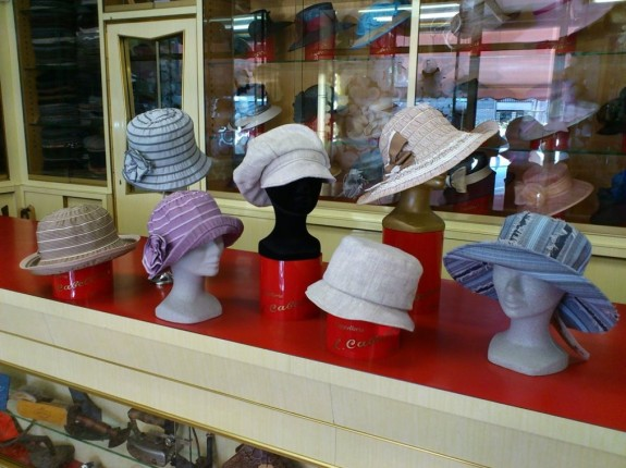 Cappelli in Tessuto