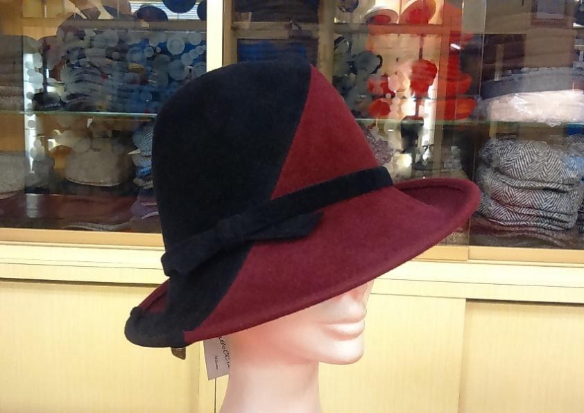 Cappello in feltro Velour Bicolore af9a626b2fc6