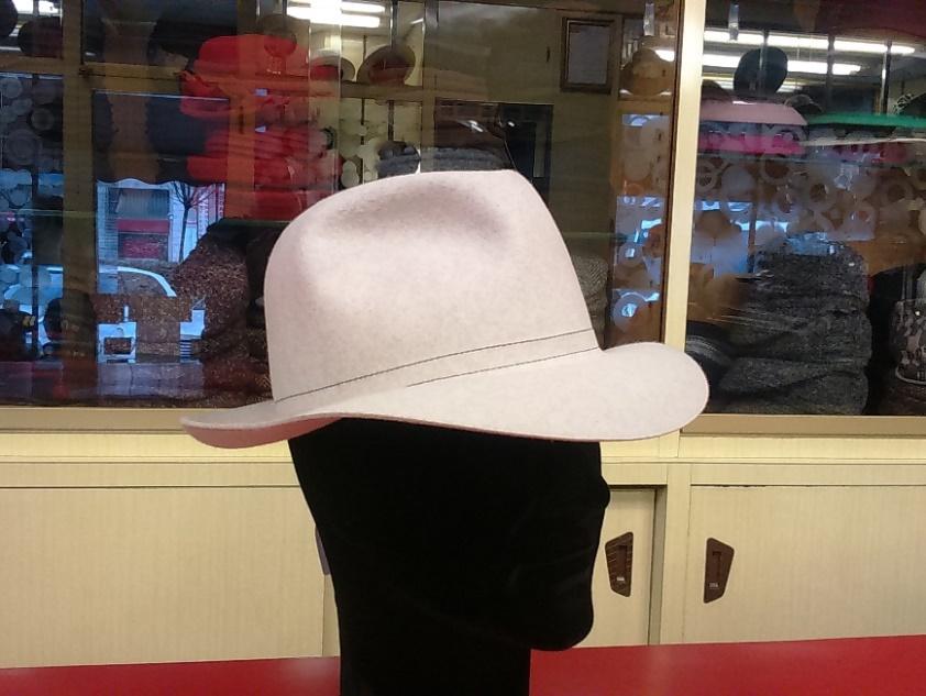 Cappello in feltro di lapin satinato. Altri colori. ARROTOLABILE! 54627a1db81d