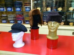 Cappelli in Montone Shearling originale