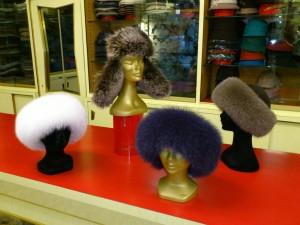 Cappelli in pelliccia