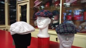 Coppole in lino scozzese
