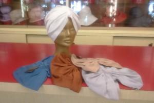 Turbanti da donna in cotone elasticizzato